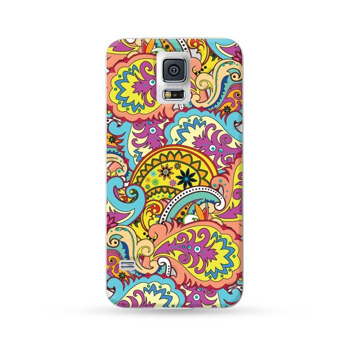 Ultra Case Samsung Galaxy S5 Hard Case Paisley Red