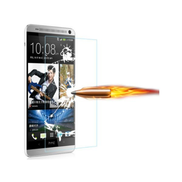 Ultra Thin 0.3mm 2.5D 9H Explosion Proof Premium TemperedGlass Screen Protector Anti-scratch Protective Film For HTC One M8 M8s (Intl)