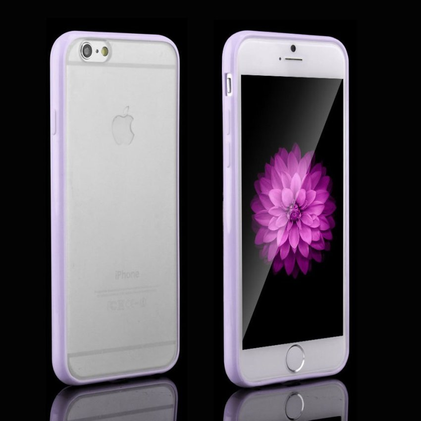 Ultra Thin Matte Crystal Hard Back Case for iPhone 6 6s (Purple) (Intl)