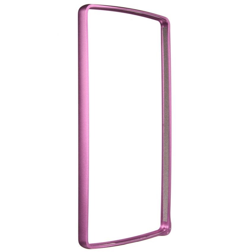 Ultra Thin Novel Luxury Aluminum Metal Frame Bumper Case for LG G4 (Pink) (Intl)