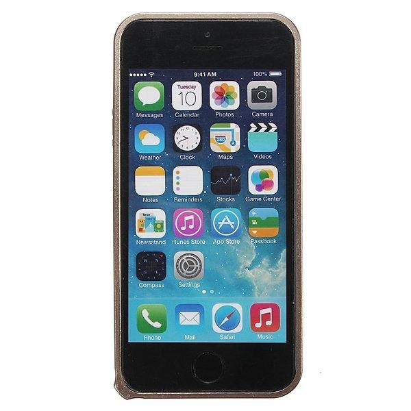Ultra Thin Slim Aluminum Metal Frame Blade Bumper Case for iPhone 5 5s (Rose Red) (Intl)