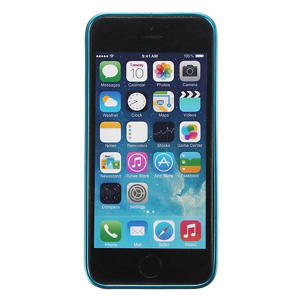 Ultra Thin Slim Aluminum Metal Frame Blade Bumper Case for iPhone 5/5S (Sky blue) (Intl)