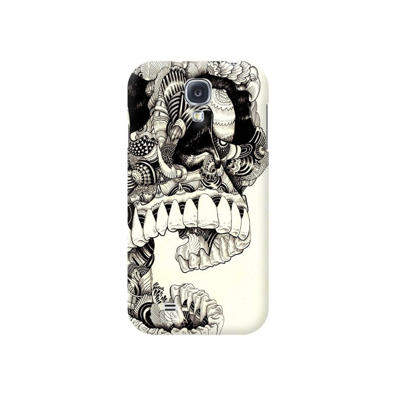 UltraCase Skull Dead Art Print Black Full Wrap Hard Case for Samsung Galaxy S4 (Black)