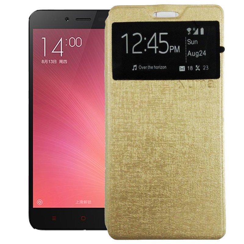 Uma Elegan Case for Infinix Hot Note X551 - Gold + Gratis Tempered Glass