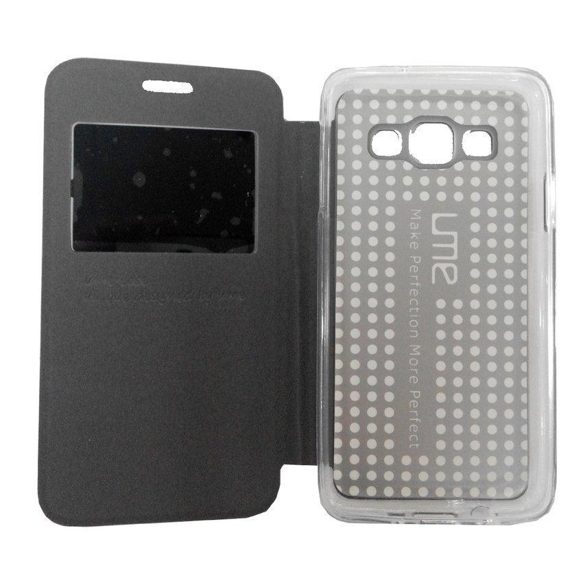 Ume Enigma Flipshel For Samsung Galaxy A3 - Hitam
