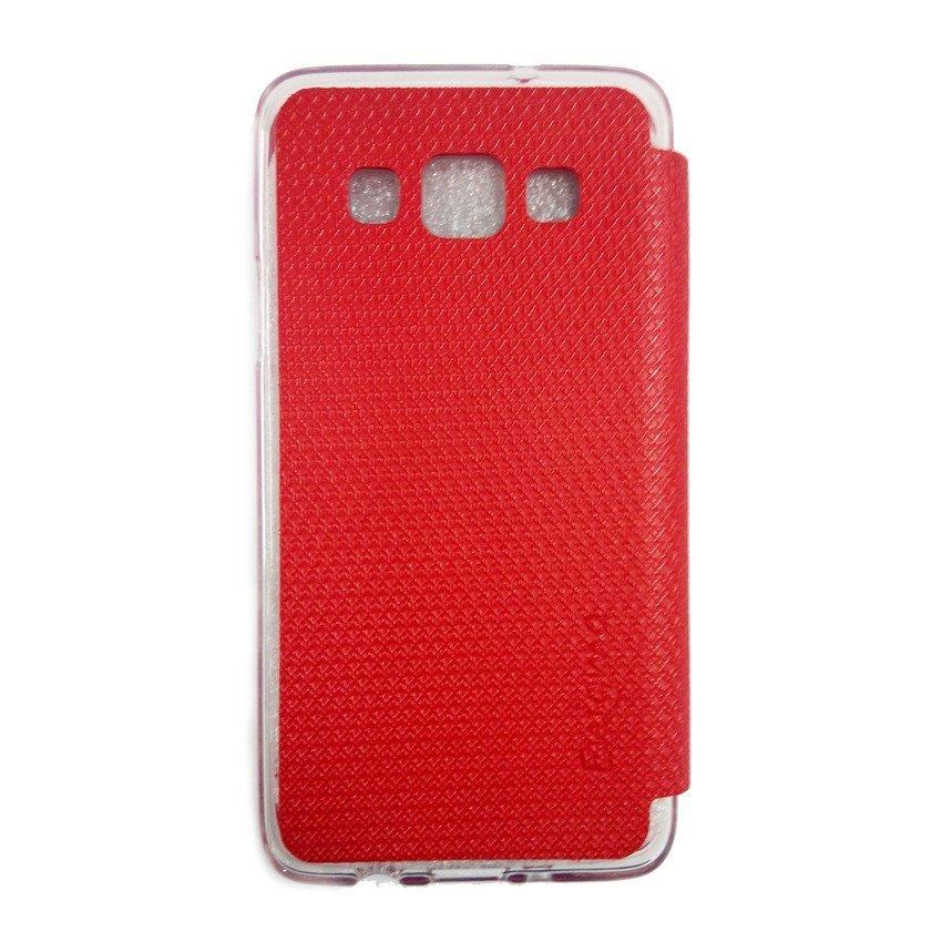 Ume Enigma Flipshel Samsung Galaxy A3 - Merah