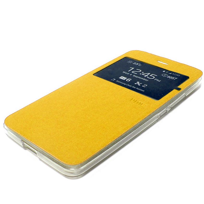 Ume Flip Cover Asus Zenfone Max Zc550Kl - Emas