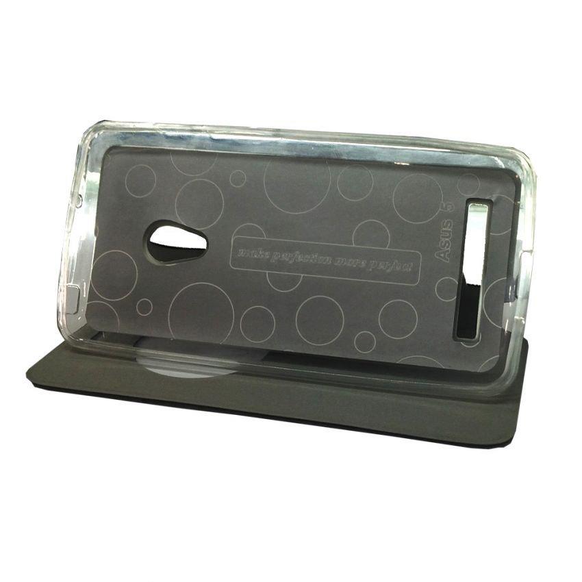 Ume Flip Cover for Asus Zenfone 5 - Hitam