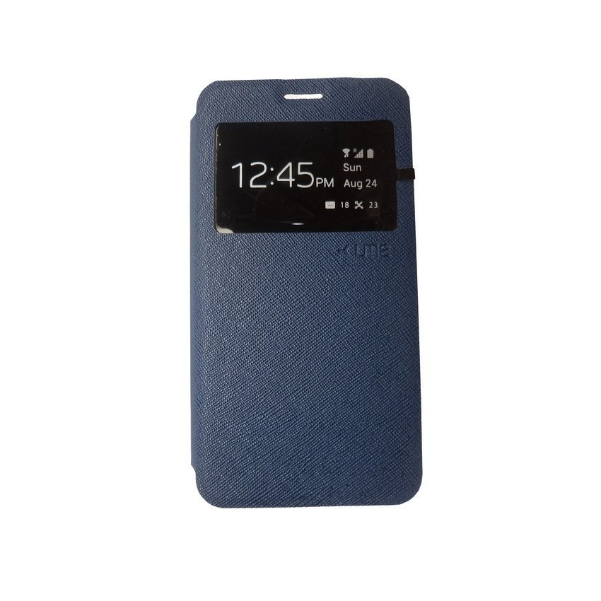 Ume Flip Cover for Xiaomi Redmi 2 - Biru Tua