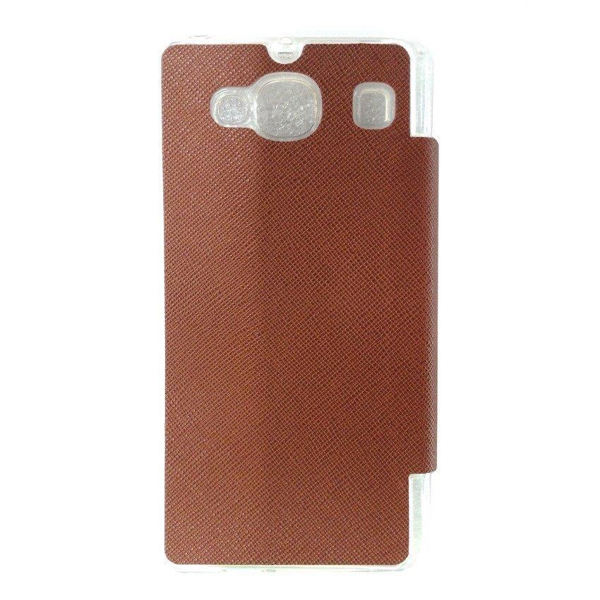 Ume Flip Cover for Xiaomi Redmi 2 - Cokelat