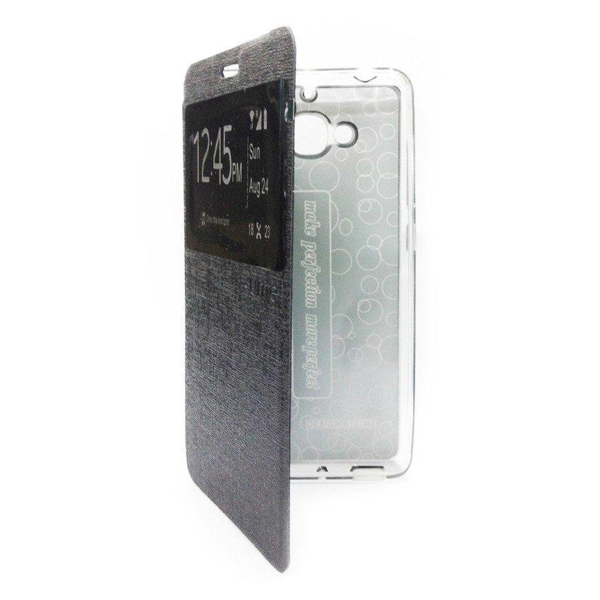 Ume Flip Cover For Xiaomi Redmi 2 - Hitam