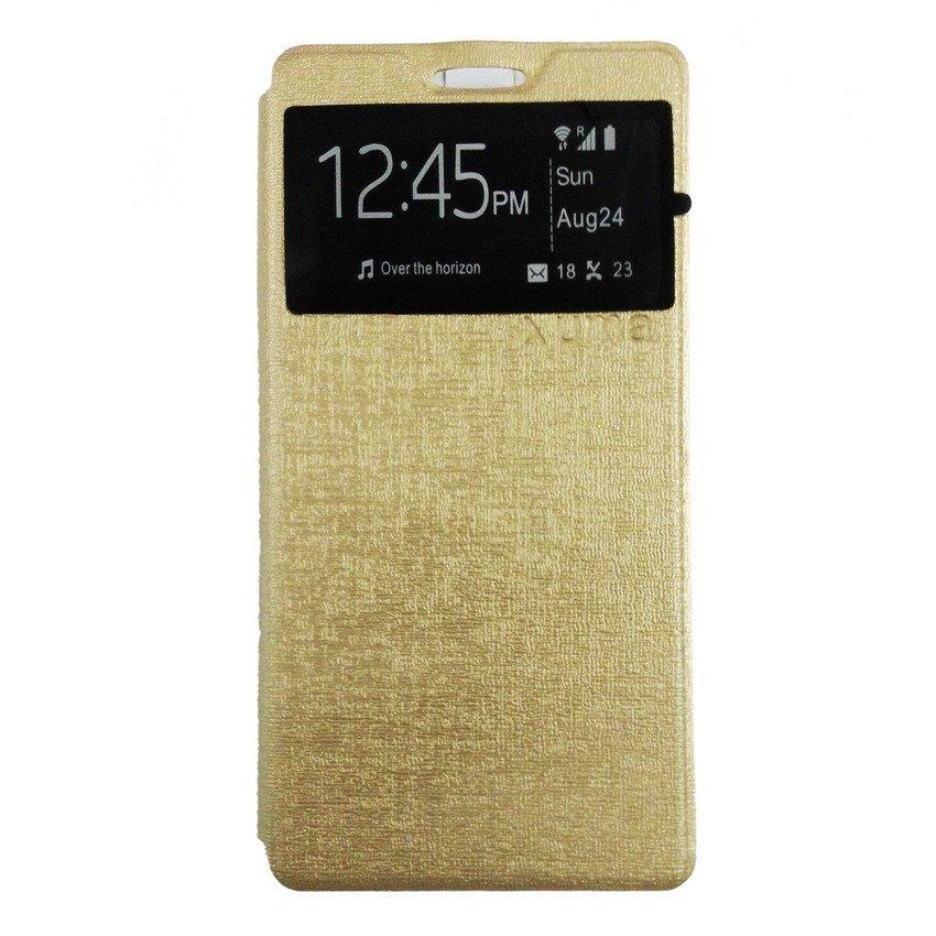 Ume flip Cover Sony Xperia M4 Aqua - Gold