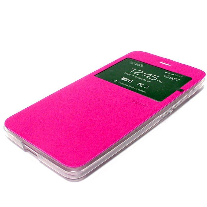 Ume Flip Cover Untuk Asus Zenfone 2 Laser 6.0 inch- Pink
