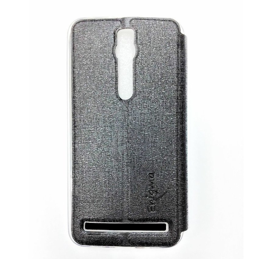 Ume Flip Cover View Asus Zenfone 2 ZE 550ML/ ZE 551ML- Hitam