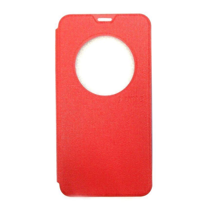 Ume Flip Cover View For Asus Zenfone 2 ZE550ML/ZE551ML- Merah