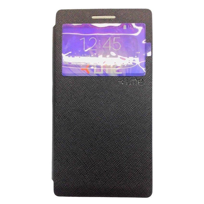 Ume Flip Cover View For Lenovo P70 - Hitam