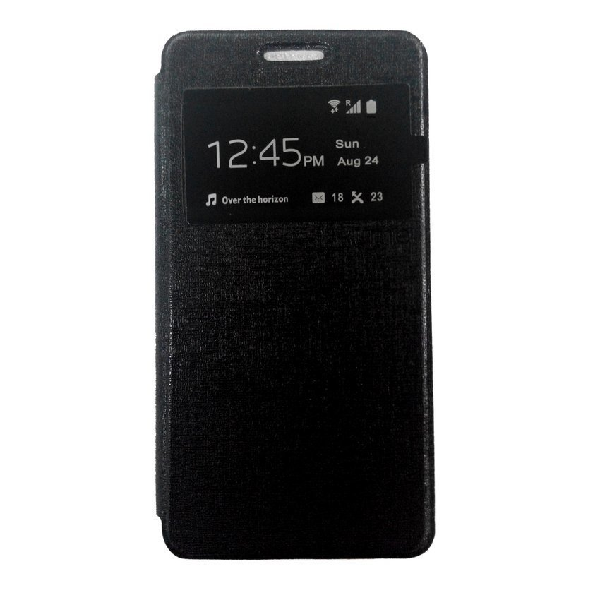 Ume Flip Cover View for Samsung Galaxy A5 - Hitam