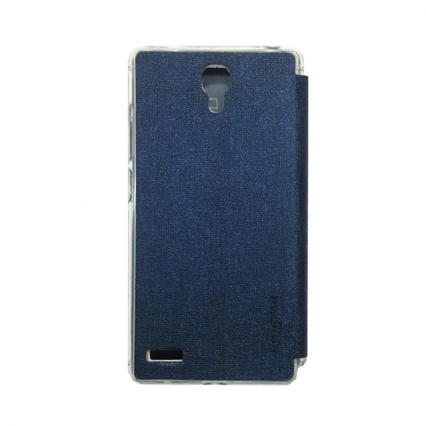 Ume Flip Cover View for Xiaomi Redmi Note - Biru Dongker