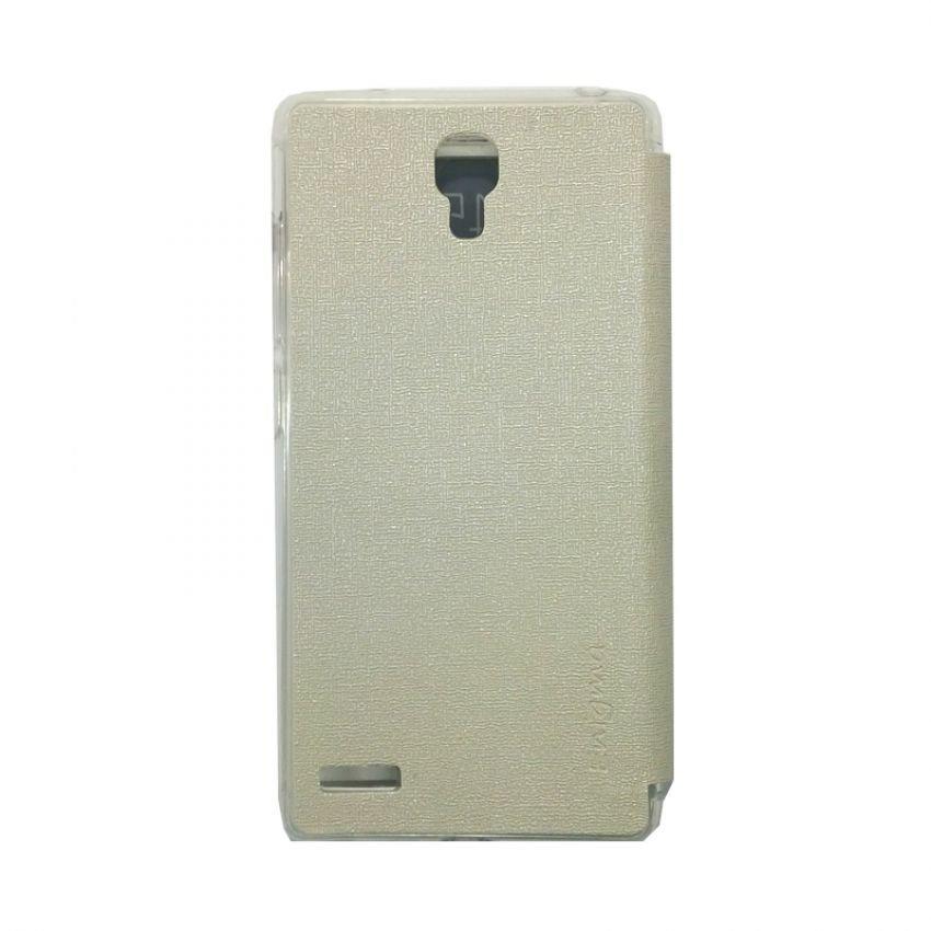 Ume Flip Cover View for Xiaomi Redmi Note - Putih