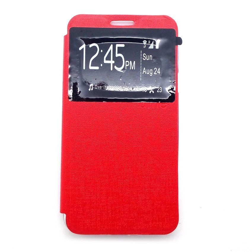 Ume for Xiaomi Redmi 2S Flip Cover View - Merah