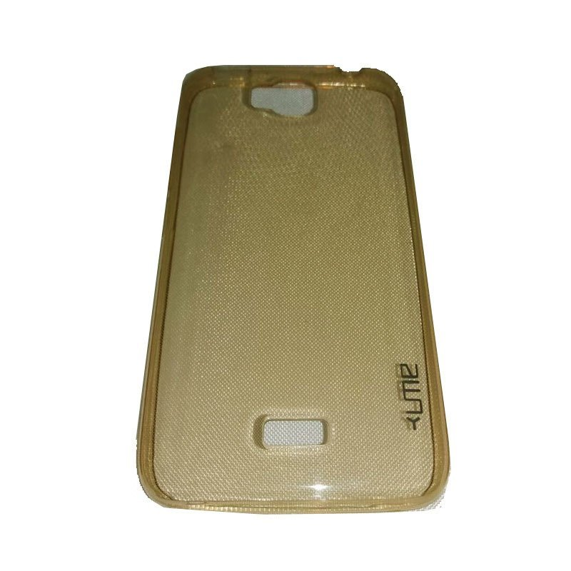 Ume Huawei Y3 / Y3c UltraThin / UltraFit Air Case 0.3mm - Kuning Transparan