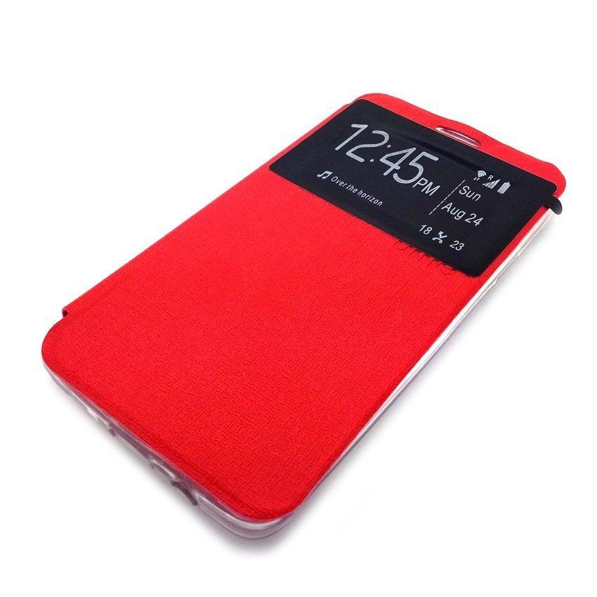 Ume Xiaomi Redmi 2S Flip Cover View - Merah