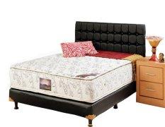 Uniland Kasur Springbed Platinum Double Pillowtop - Full Set Venezia - 160x200 - Khusus Jabodetabek