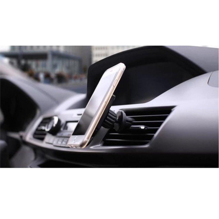 Universal 360 Degree Magnetic Car Air Vent Mount Holder - 151005 - Black