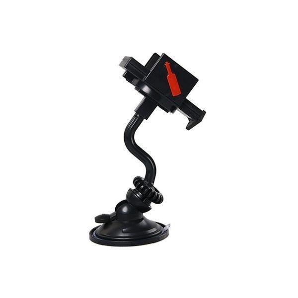 Universal 360 Degrees Rotatable Auto Car Mobile Phone Holder (Black)