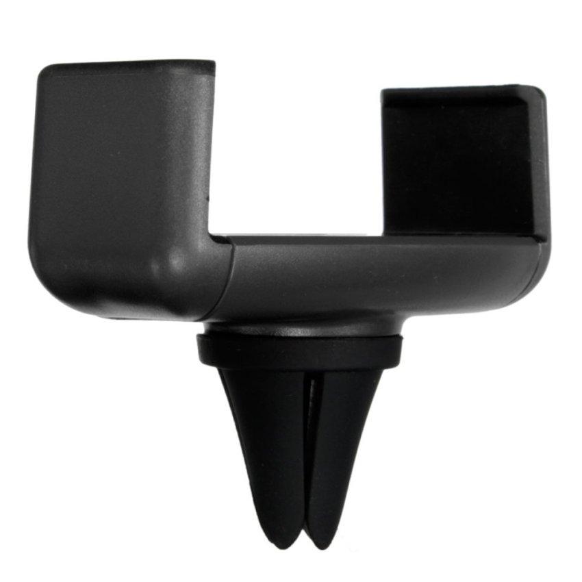 Universal Car Air Vent Outlet Holder Desktop Stand Bracket For Mobile Phone GPS Black (Intl)