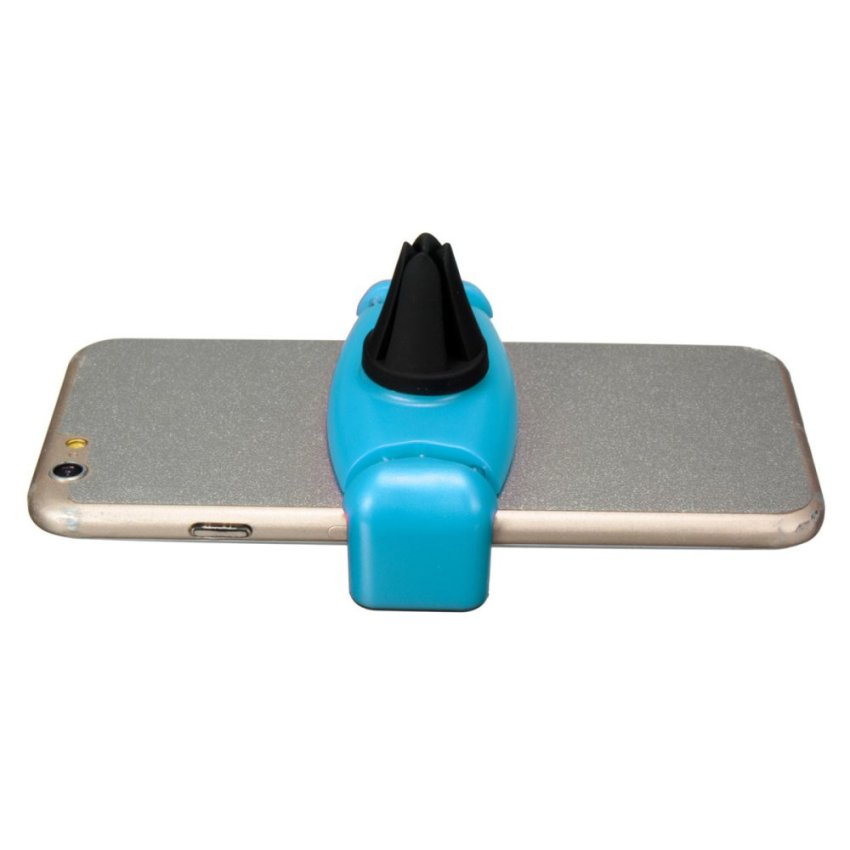 Universal Car Air Vent Outlet Holder Desktop Stand Bracket For Mobile Phone GPS Blue (Intl)