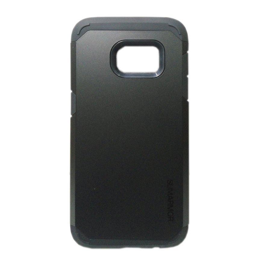 Universal Case Tough Armor Protective For Galaxy Samsung S7 - Hitam