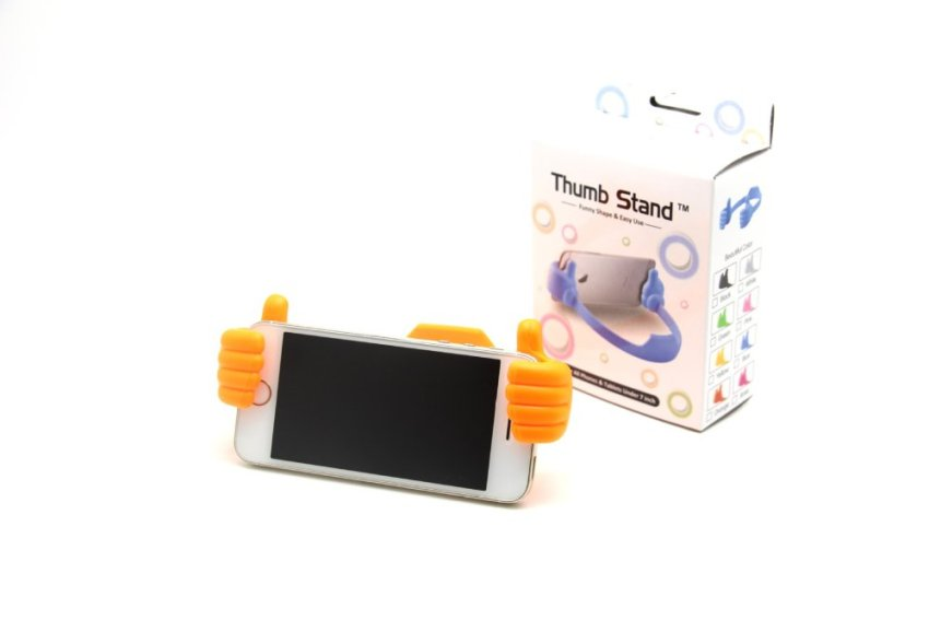 Universal Finger Thumb Bracket Stand Holder Mounts Multifunctional Desk Stents For iPhone Samsung Mobile Cell phone Tablet PC (Intl)