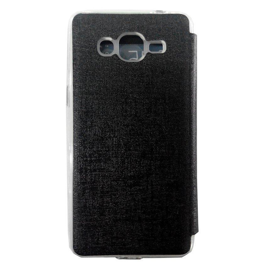 Universal Flip Cover for Samsung Galaxy Grand Prime - Hitam