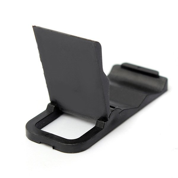 Universal Foldable Mini Cell Phone Stand Holder for iPhone Galaxy HTC Huawei Black (Intl)