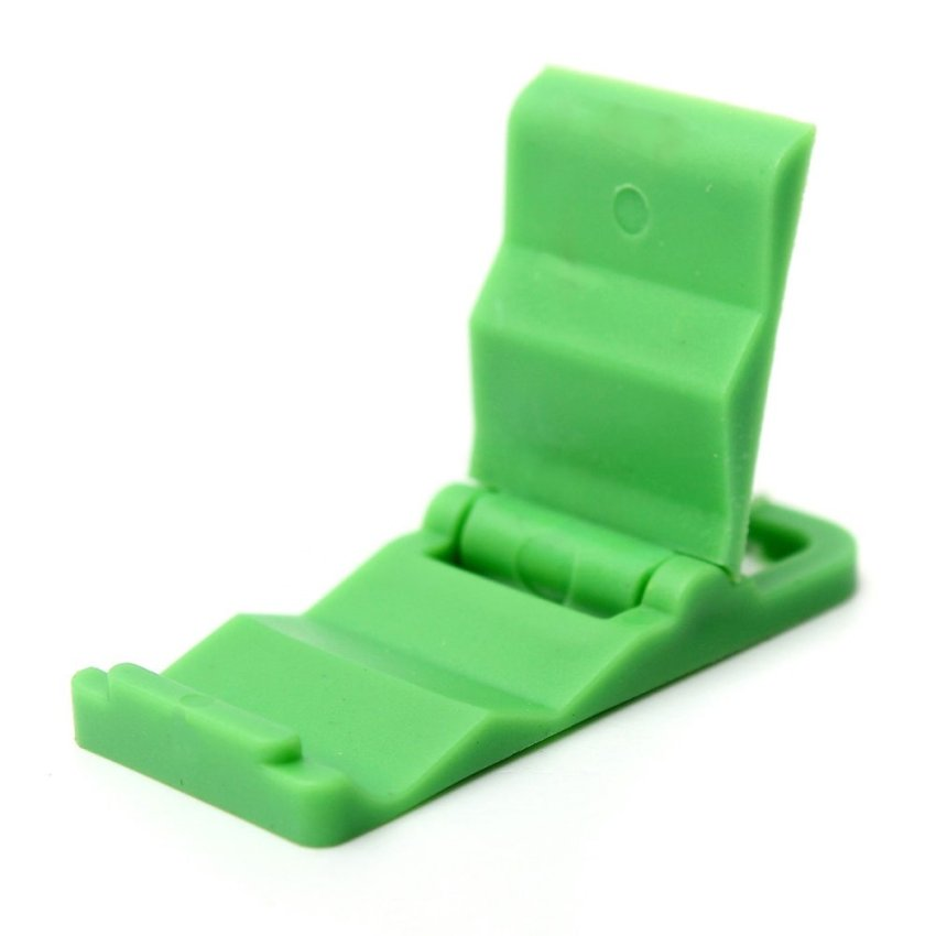 Universal Foldable Mini Cell Phone Stand Holder for iPhone Galaxy HTC Huawei Green (Intl)