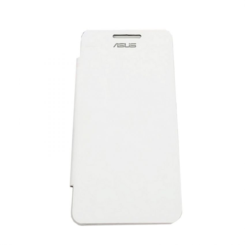 Universal for Asus Leather Flip Case Asus Zenfone 5 - Putih