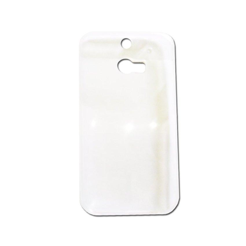 Universal Gea Silikon Clear Capsule HTC M8 - Transparant