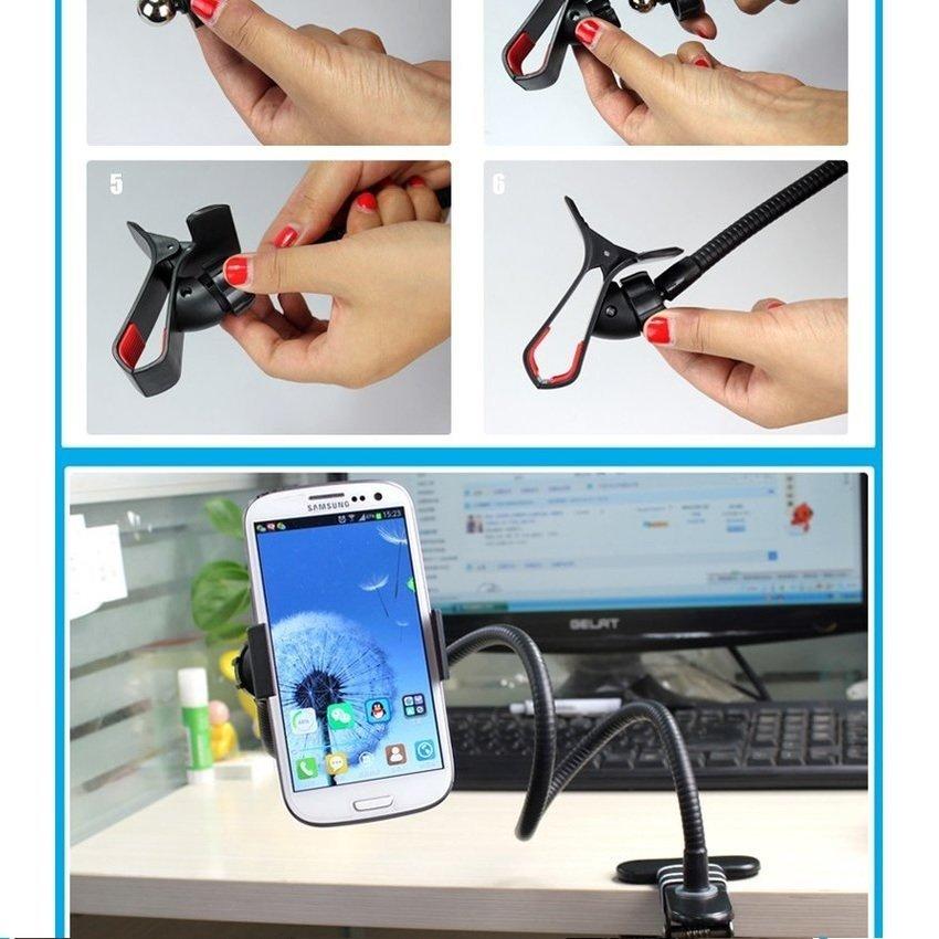 Universal Lazy Mobile Phone Monopod - Tripod-8 - Hitam