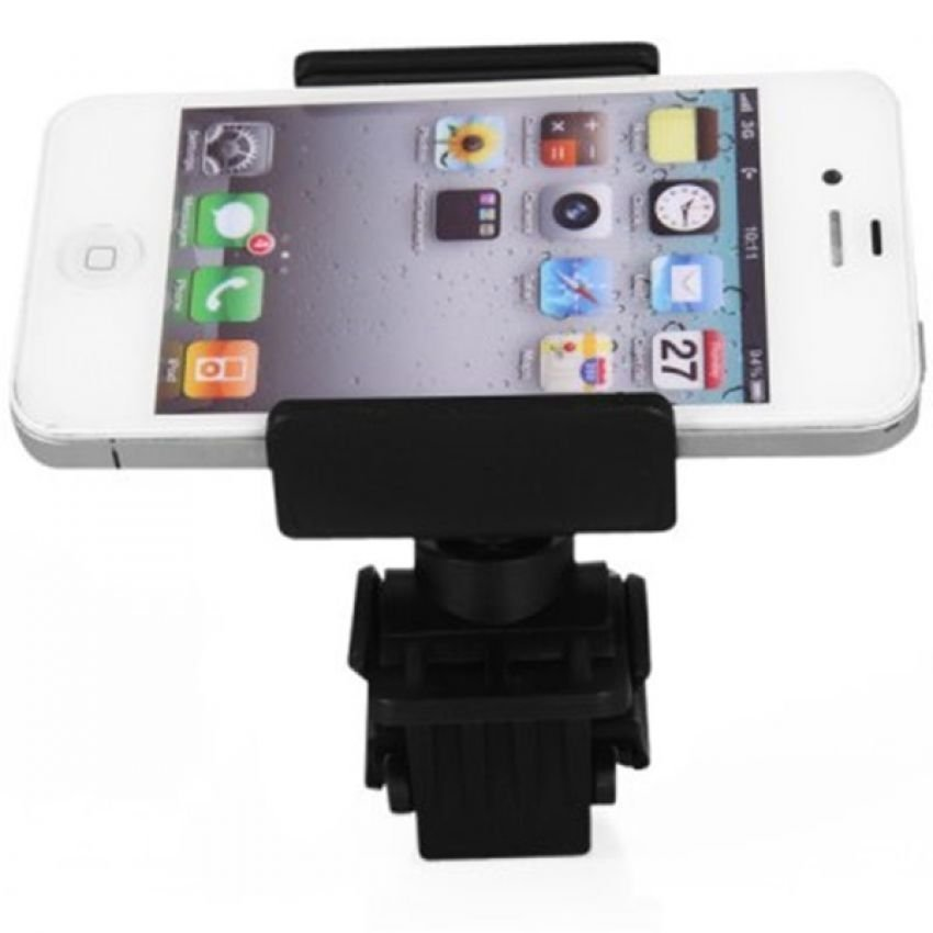 Universal Lazy Tripod Bicycle Mount Bike Holder for Smartphone - WF-428 - Hitam