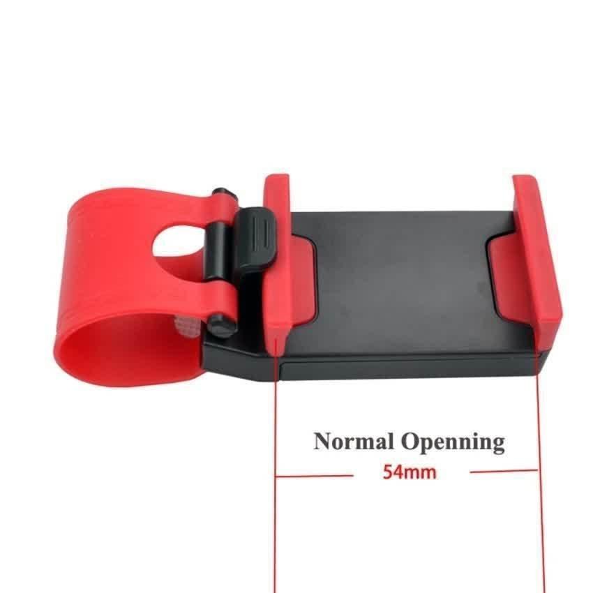 universal Lazy Tripod Car Mount Holder for Smartphone - WF-358 - Black