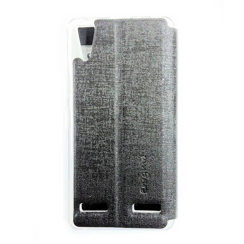 Universal Leather Case for Lenovo A6000 - Hitam