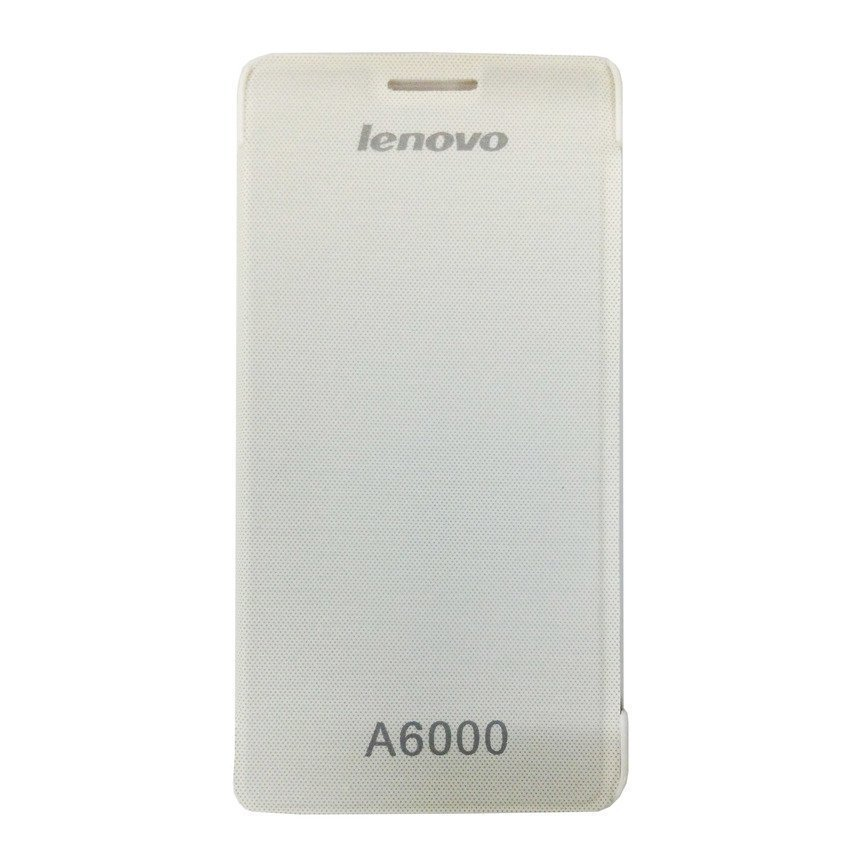 Universal Leather Case Lenovo A6000 - Putih
