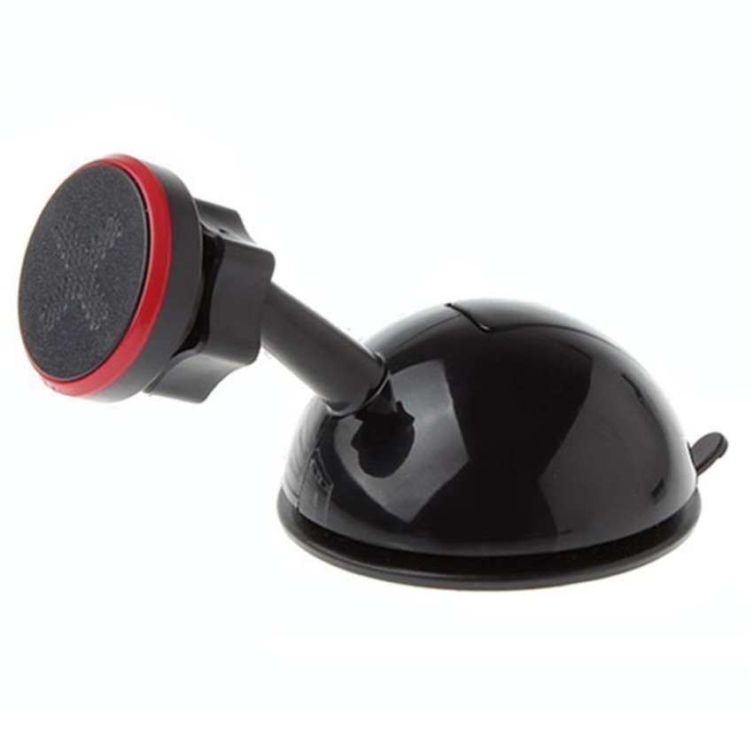 Universal Magnetic Car Suction Cup Holder Stand for Smartphone - JHD-32HD76 - Black