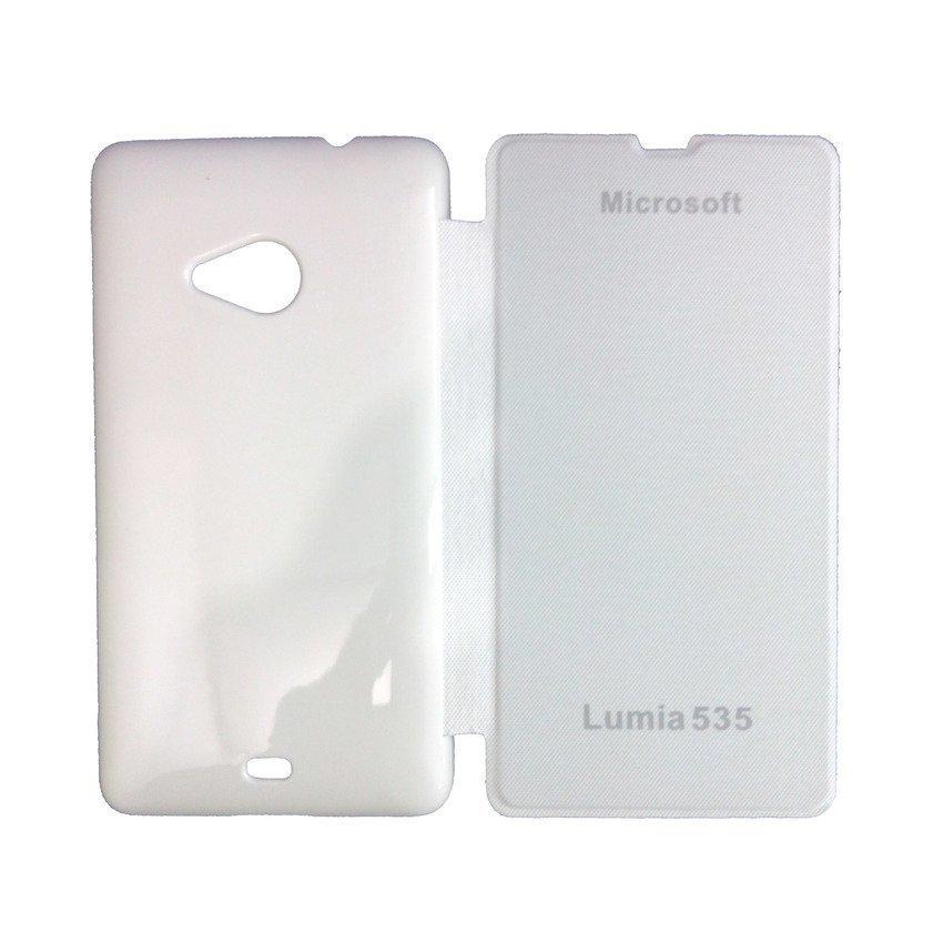 Universal Microsoft Flip Cover Lumia 535 - Putih