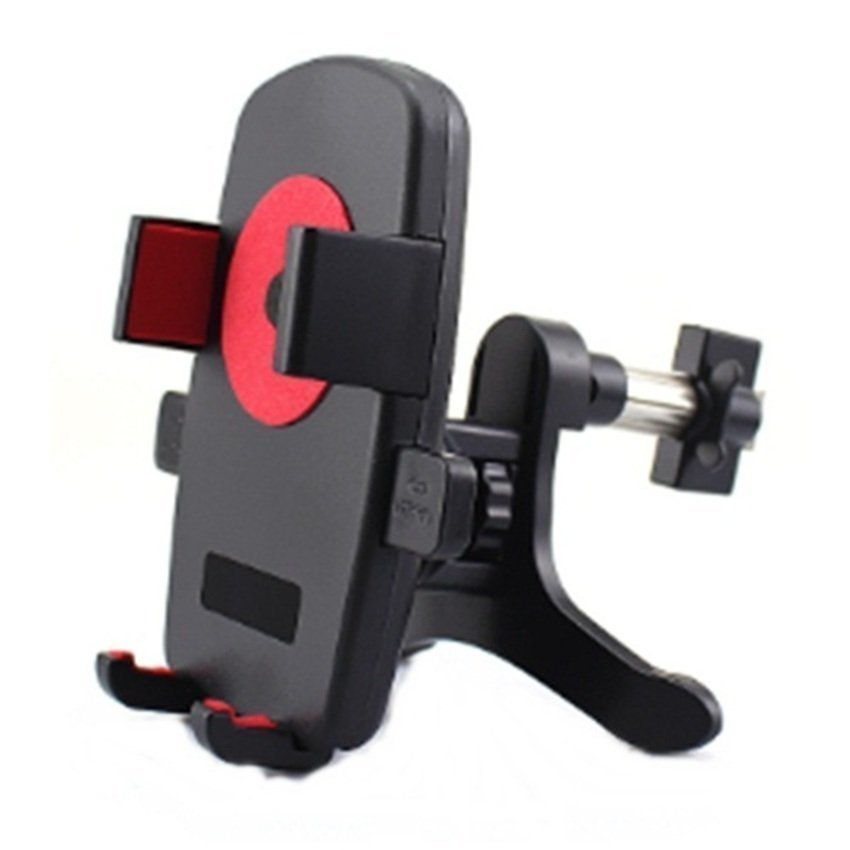 Universal Mobile Car Ac Hp Holder up to 6.3inch - Merah