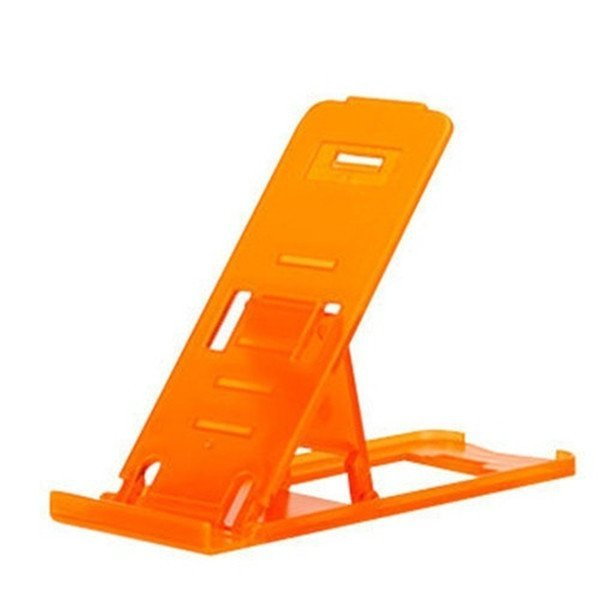 Universal Mobile Phone Portable Desktop Holder Mount Stand Cradle Bracket for Cell Phone Ipad Orange (Intl)