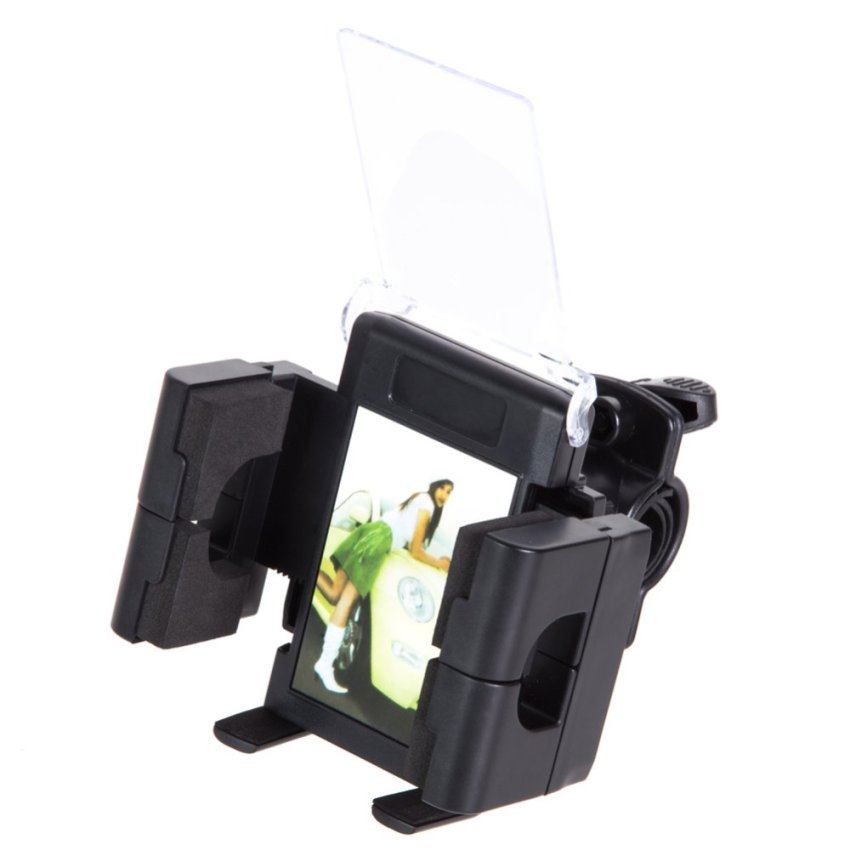 Universal Motorcycle Bike MTB Bicycle Handlebar Mount Holder for Cell Phone (Intl)