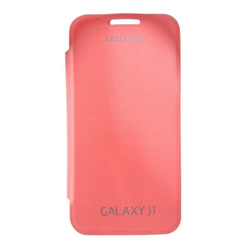Universal Samsung Flip Cover Galaxy J1 - Merah