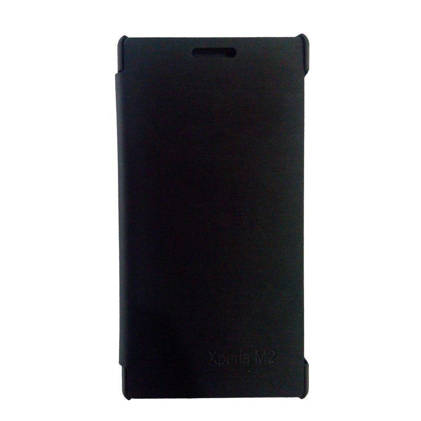 Universal Sony Flip Cover Xperia M2 - Hitam